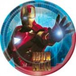 IRON MAN 2 PLATES